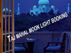 Taj Moon Light Tour | Taj mahal moon light booking