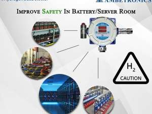 Hydrogen Gas Detection System For Battery Room