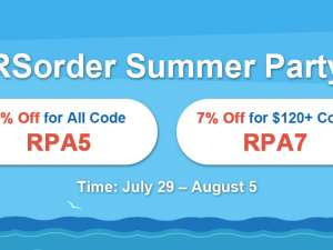 Rush to Take RSorder Summer Party 7% Discount for Runescape Gold 2007 in the Last 2 Days